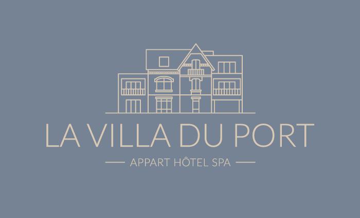 Logo La Villa du Port, un ensemble d'appart-hôtels à Vannes